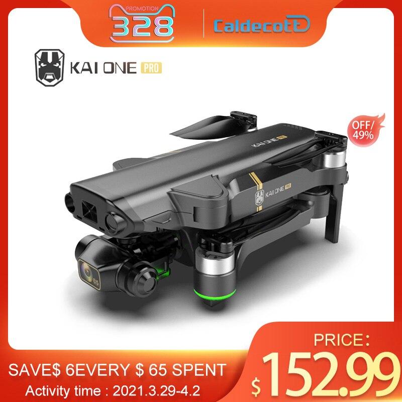 Kaione gps zangão 8k câmera dupla 5g wifi 3 axis cardan fotografia aérea motor sem escova dobrável quadcopter rc distância 1200m|Drones com câmera|   -