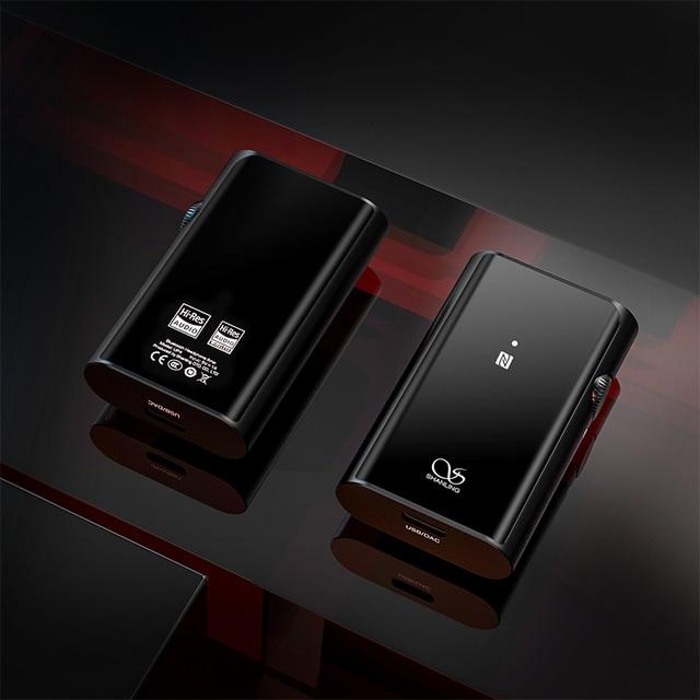 SHANLING UP4 Amplifier Dual ES9218P DAC/AMP Portable HiFi Bluetooth 5.0 Balanced Output Headphone Amplifier 6