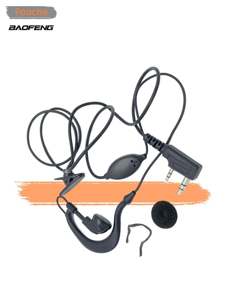 5 pièces Original Baofeng écouteur BF-666S 777S 888S UV-5R UV-6R talkie-walkie écouteur pratique deux voies Radio écouteurs