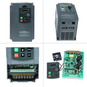 Image 4 - 2.2KW 220V VFD Inverter 3KW 4KW 5.5KW 7.5KW Frequency Inverter Converter 1P input 3P Output 220V For CNC Spindle motor