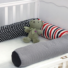 2m Newborn Pillow Baby Bed Cartoon Bumpers Crib Stuffed Toys Room Decor Toddler Wrestling Prevention Protection Fence