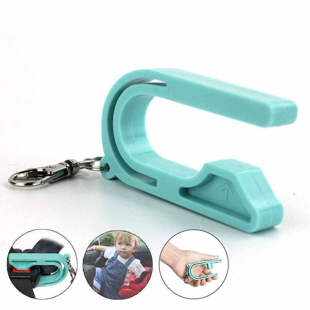 Dropship รถ Key Safety ที่นั่งปลดล็อก Unbuckle เครื่องมือ Unlocker เด็กความปลอดภัยเข็มขัดพวงกุญแจเด็กที่นั่งเข็มขัดหัวเข็มขัดอุปกรณ์