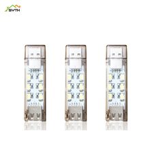 Mini USB night light bed interface 12 LED two-sided Gift lights Support wholesale table lamp