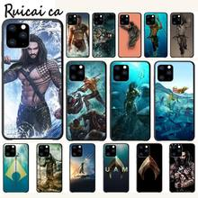 RuiCaiCa Movie Aquaman Luxury Phone Case Funda For Iphone 5s Se 2020 6 6s 7 8 Plus X Xs Max Xr 11 Pro Max Cases Cover kisscase natural wood bamboo phone cases for iphone x xs max xr cover plain phone cases for iphone 5 5s se 6 6s 7 8 plus funda