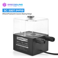 SYSCOOLING SC 300T Cooler Water Tank Integrated Water cooled Circulation Pump 300L / H 4W DC 12V Silent Computer Components