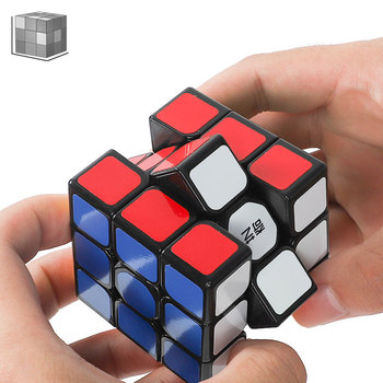 Qiyi 3*3*3, 4*4*4 Professional Cube Magic Cube Magic Cubes Educational Cube Puzzle Toys For Children Toys For Adults mo yue guo guan yue xiao 3 3 3 black magic cubes puzzle speed rubiks cube educational toys gifts for kids children