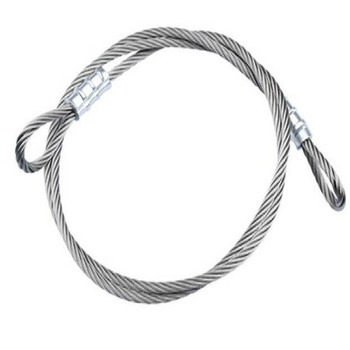 цена на suppress diameter 2MM 2.5MM 3MM 4MM 5MM 304 stainless steel wire rope cabel steel 2M/LOT FREE SHIPPING