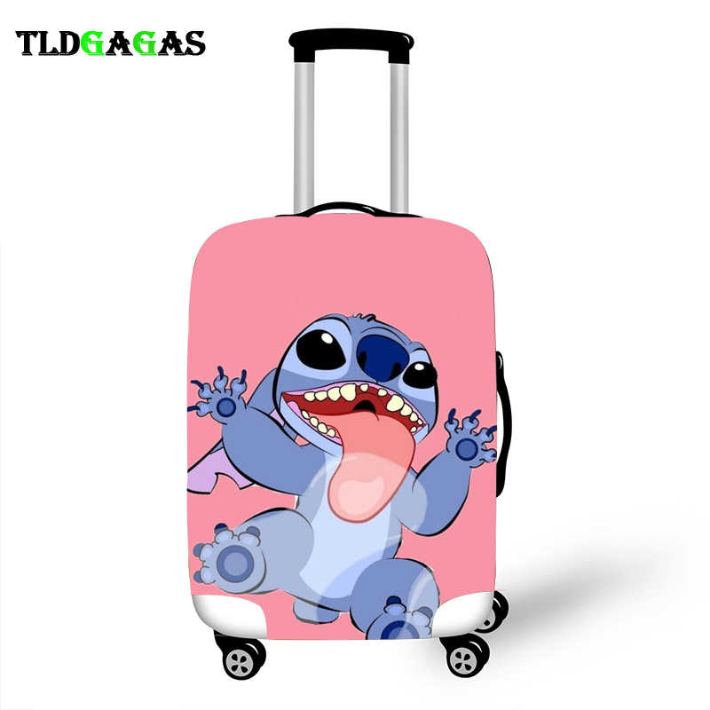 ยืดหยุ่นป้องกันกระเป๋าเดินทางสำหรับกระเป๋าเดินทางป้องกันรถเข็นกรณีครอบคลุม 3D อุปกรณ์เสริม Stich รูปแบบ T26