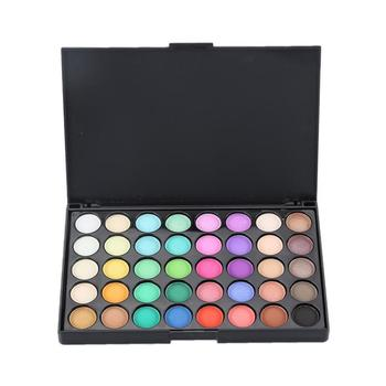 40 Color Eyeshadow Palette Matte Shiny Diamond Eyeshadow Glitter Eye Shadow Cream Women Makeup Palette Cosmetic Maquiagem TSLM1 1