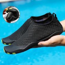 Sapatos de aqua para homens, sapatos amantes de secagem rápida para praia, natação, yoga, surf, mergulho