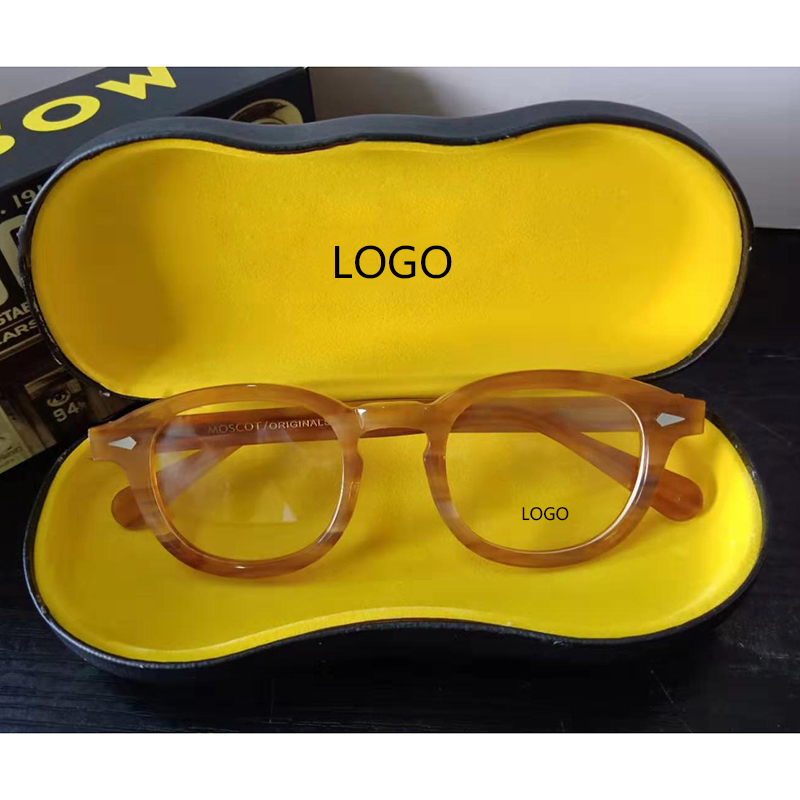 Optical Glasses Frame Men Women Johnny Depp Polarized Sunglasses Top Quality Brand Acetate Eyeglasses Frame With Box 03