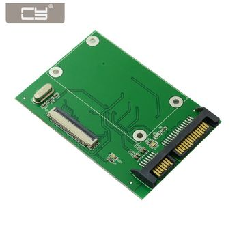 CY 40 Pin ZIF CE 1.8 Inch SSD/HDD to SATA Adapter Board with LIF Flat Cable