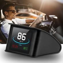 OBD Smart Digital Meter HUD P10  For Car Speedometer Temperature RPM Mileage Guage Multi function Head Up Display