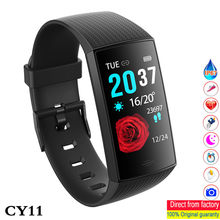 BINSSAW Blood PressureSmart Watch IP67 Waterproof Fitness Tracker Heart Rate Monitor 1.14inch Color Screen Sport Band Miband 3(China)