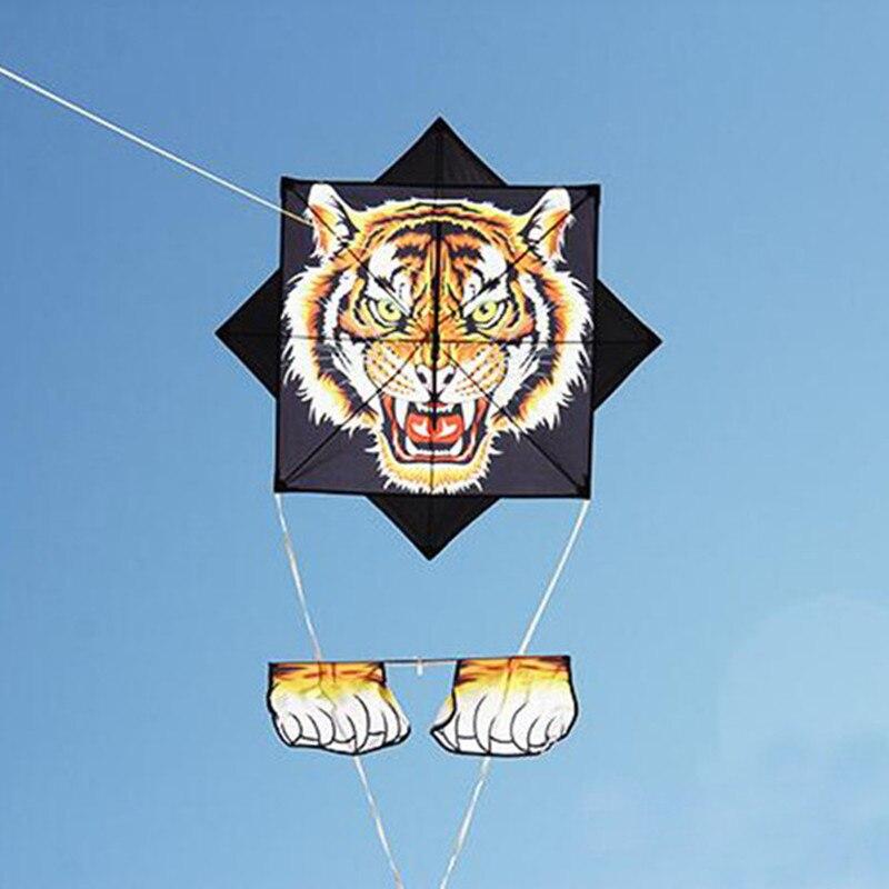 Livraison gratuite potins tigre cerf-volant mouche pour jouets de plein air parachute cerfs-volants aigle latawiec bobine dessin animé enfants cerfs-volants veleta livre