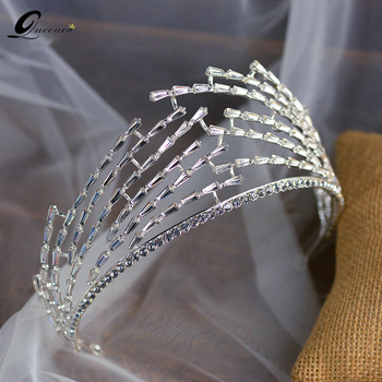 Bride Jewellery Diademas Hair Accessories For Women Haar Crown Tiara Diadema Headband Hair Accesories Accesorios Para El Cabello
