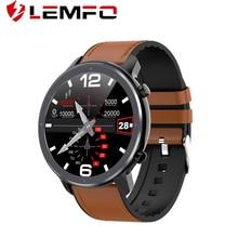 LEMFO 스마트 워치 남자 ECG 심박수 혈압 모니터 1.3 인치 전체 화면 터치 IP68 방수 Smartwatch