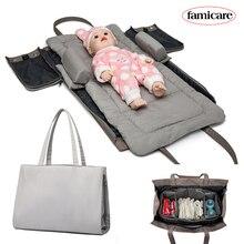 Bolsa pañales maternidad para cama extraíble para bebé, bolsos para mamá, cama de viaje, cama portátil, cuna, nido, colchón, Hobos