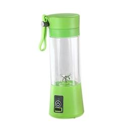 380Ml Mini Usb akumulator przenośne elektryczne sokowirówka urządzenie do smoothie blender butelki sportowe 4 ostre ostrza owoców Mix|Sokowniki|AGD -