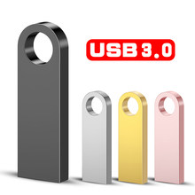 Metal Pen Drive 3.0 PenDrive 32GB 16GB 8GB 4GB High Speed Usb Flash Drive 128GB Key usb Stick 64gb flash memory Usb Flash Disk(China)
