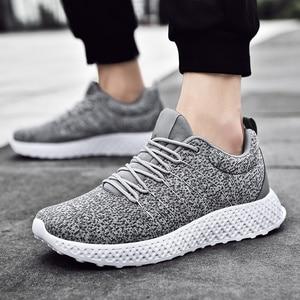 Fashion Men's Casual Shoes Comfortable Sneakers Classic Men Shoe Wear Resisting Plue Size 46 Zapatos De Hombre(China)