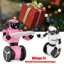 Robot Wifi-Camera Toys Radio-Control Intelligent-Balance Avoidance Mini F4 with RC Gifts