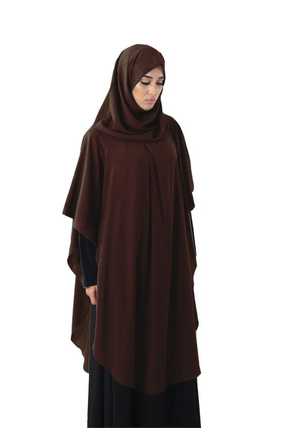 Muslim Women Hijab Overhead Large Prayer Dress Niquab Long Scarf Khimar Islamic Jilbab Burka Full Cover Clothing Ramadan Arab