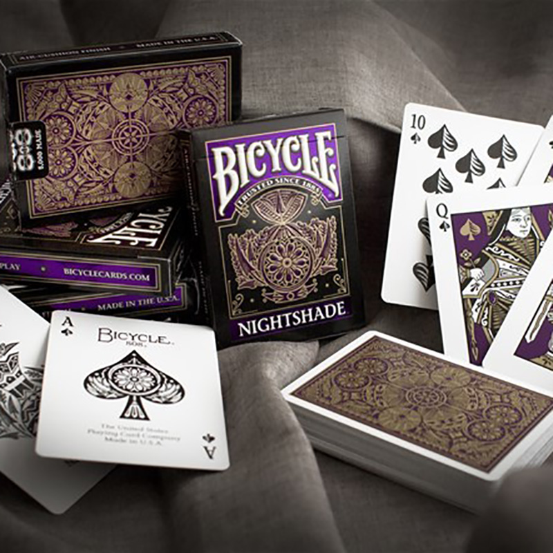 1 Piece Nightshade Playing Cards High Quality Playing Cards New Poker Cards For Magician Collection Card Game