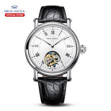 Чайка Для мужчин часы tourbillon механические Роскошные Брендовые