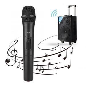 Image 3 - 범용 UHF 무선 전문 핸드 헬드 마이크 오디오 앰프 노래방 마이크 노래 성능 오디오 앰프
