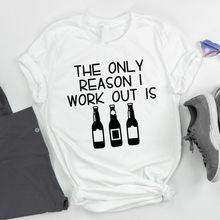 Camiseta de algodão engraçado do verão da camisa do pescoço da tripulação dos gráficos macios da parte superior