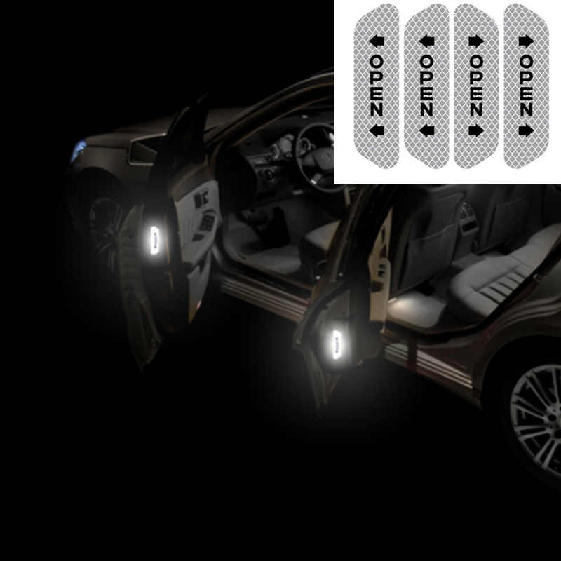 Porta do carro Adesivo Decalque Fita de Advertência para mazda atenza 6 vw golf r mk7 gti polo mercedes classe a vw t5 mercedes vauxhall astra