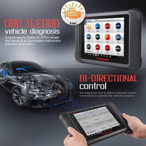 Image 3 - Autel OBD2 Auto Strumento di Diagnostica Maxisys MS906BT Senza Fili di Bluetooth Scanner Chiave di Codifica Immobilizzatore One Stop Multitasking Progettato