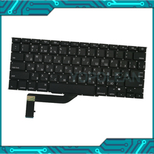 Russian-Keyboard Macbook Small Key-A1398 New for Pro Retina 15inch 5pcs Enter