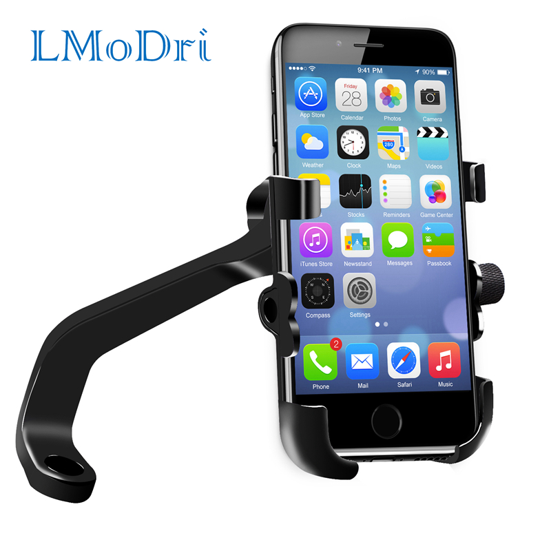 LMoDri Motorcycle Phone Holder With USB Power...