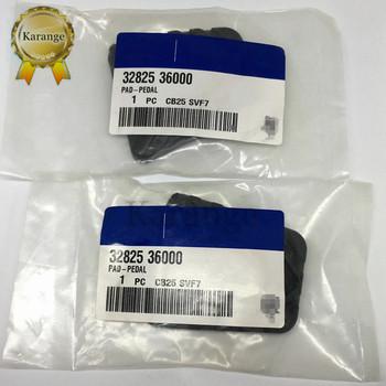 2 sztuk hamulca pedał sprzęgła pokrywa Pad dla Hyundai instrukcja Accent Sonata SantaFe I20 I30 40 IX20 IX35 dla Kia 32825-36000 3282536000 tanie i dobre opinie Karange CN (pochodzenie) 32825 36000