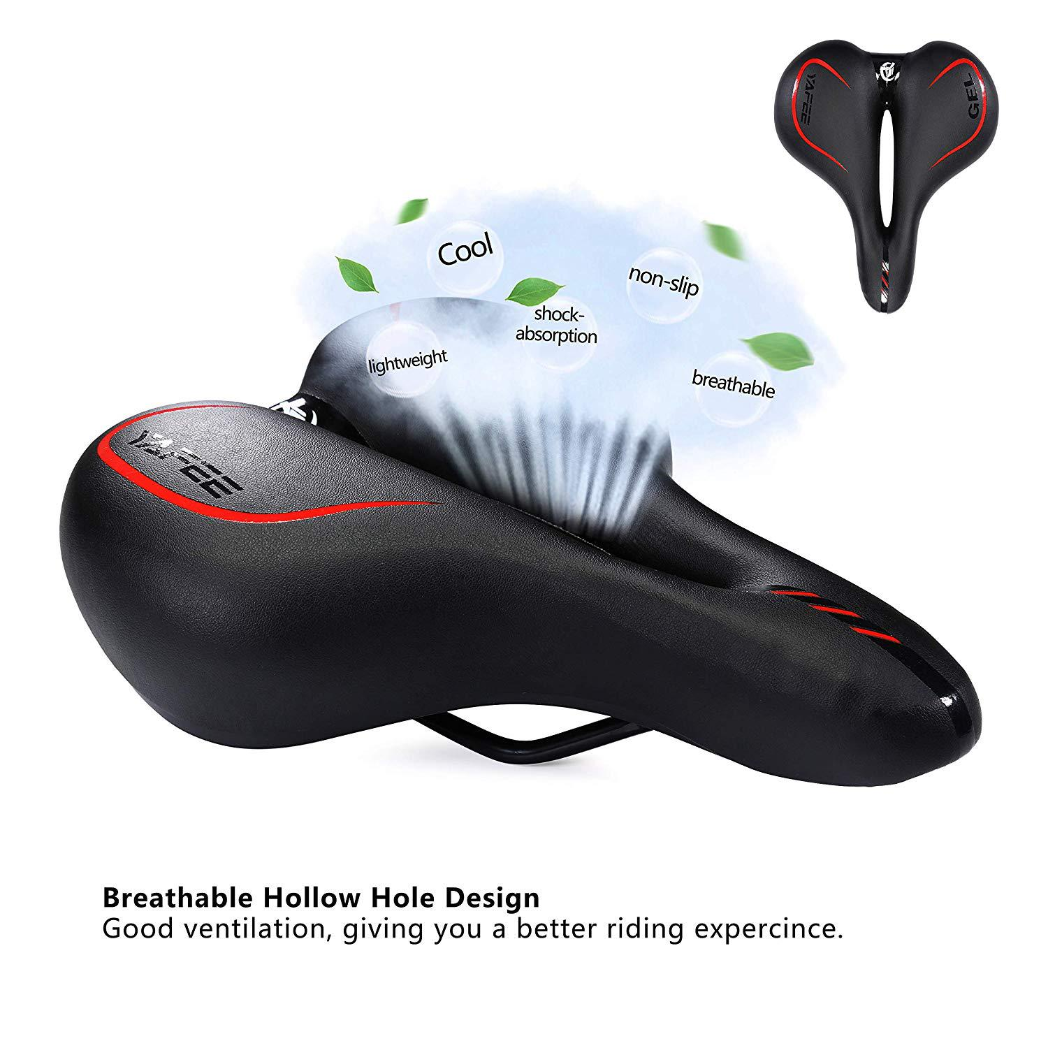 Cycling Saddle Big Butt Bicycle Cushion Silicone Bicycle Saddle Seat Mountain Bike Seat Bicycle Saddle   Bicycle Accessories|Bicycle Saddle| |  - title=