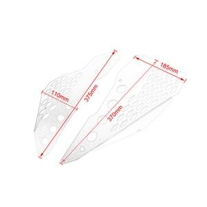 Image 2 - Protetor de painel de borracha lateral de alumínio, proteção de bordo para ducati scrambler sixty/deserto/acelerador completo/enduro urbano