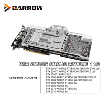 BS-GIX2080T-PA Barrow GPU water block for GIGABYTE RTX 2080TI AORUS XTREME 11G gpu water cooling cooler support sync mobo люстра citilux el325c15 1