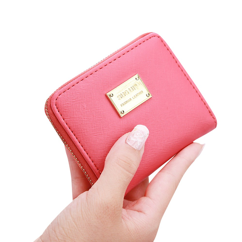 Fashion Female Purse Women Leather Small Wallet Card Holder Zip Coin Purse Clutch Handbag Dropshipping Bolsa Feminina#6
