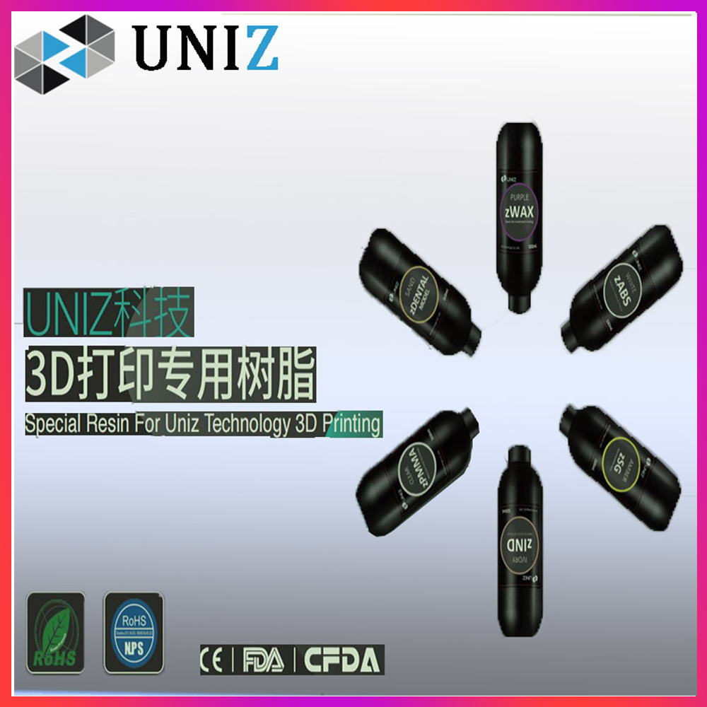 LCD 3d Printer Resin Light Cured Resin UV Photocuring Sensitive Resin 800g 405nm Printing Materials for Photon 3D Impresora