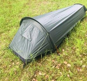 Ultralight Bivvy Bag Tent, 100% Waterproof Sleeping Bag Cover Bivvy Sack for Outdoor Survival, Bushcraft, Bivy Bag(China)