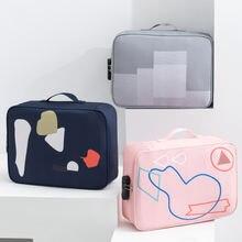 Водонепроницаемый портфель большой емкости А4 docu для мужчин