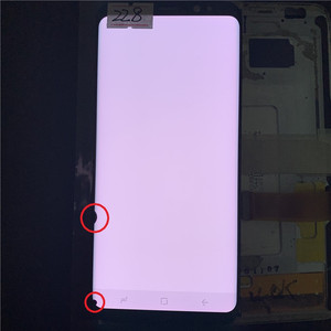 Image 4 - Original  SUPER AMOLED S8 LCD For Samsung Galaxy S8  G950 G950F  Lcd Display  Touch Screen Digitize With Black Dots