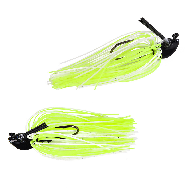 1Pcs 7g 10g 14g Finesse Chatter bait spinnerbait fishing lure Buzzbait wobbler chatterbait for bass pike walleye fishing tackle-2