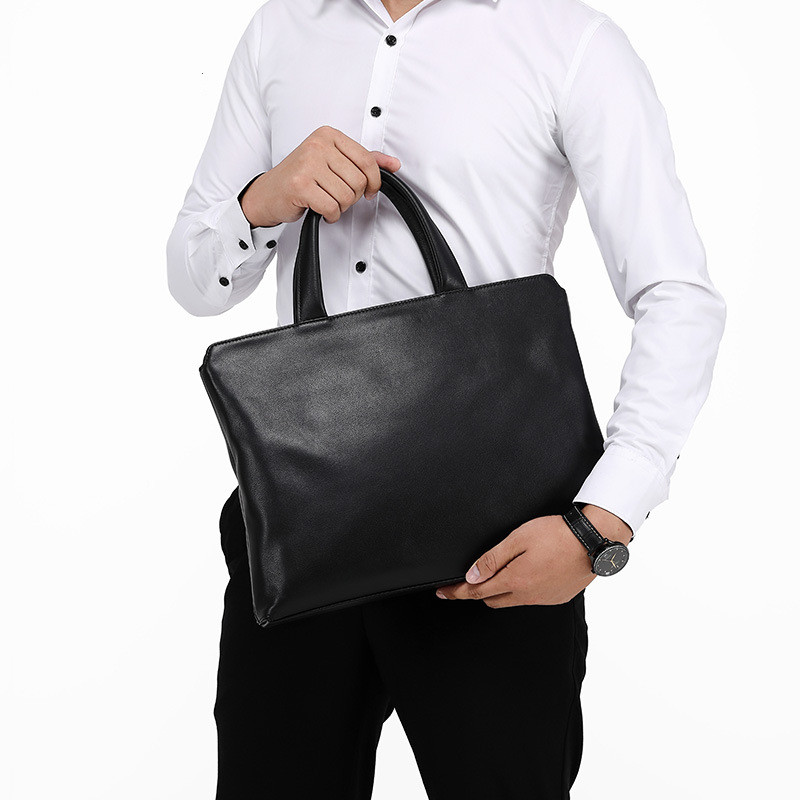 Luxury Brand Genuine Real Cow Leather Laptop Bags Business Men Briefcases Men Handbag Totes Casual Male Bag Shoulder