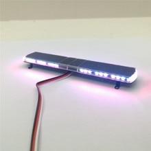 15 מצבי צבעוני LED זרקור מנורת אלומיניום הנדסת מקרן אור עבור Tamiya 1/14 סקאניה Volvo 56360 RC משאית טרקטור
