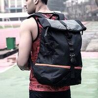 Outdoor Sport Training Hiking Backpack Men Large Capacity Basketball Backpack Rugby Double Shoulder Bag Laptop Rucksack Pack