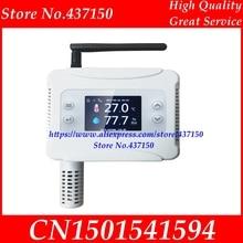 Ethernet WIFI Temperatuur Vochtigheid Zender sensor USB voor Wifi Verbinding LCD display