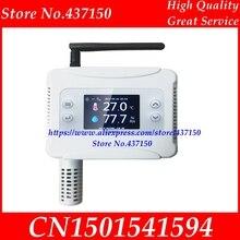 Ethernet WIFI טמפרטורת לחות משדר חיישן USB עבור Wifi חיבור LCD תצוגה